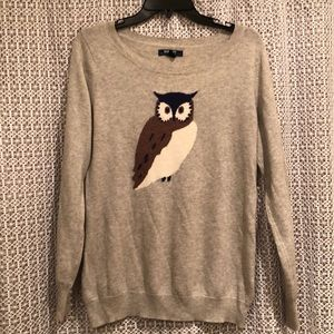 Old Navy Owl Sweater M/L
